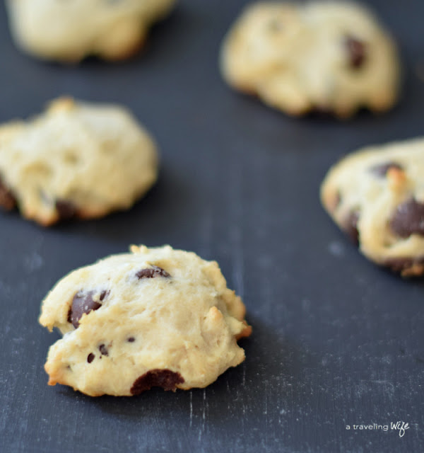 No Added Sugar Chocolate Chip Cookie | www.atravelingwife.com | a-traveling-wife