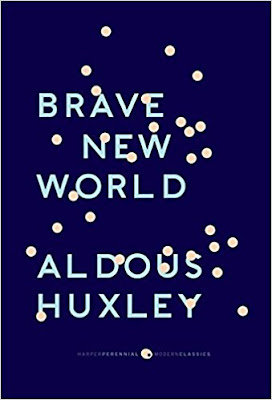 Brave New World by Aldous Huxley (Book cover)