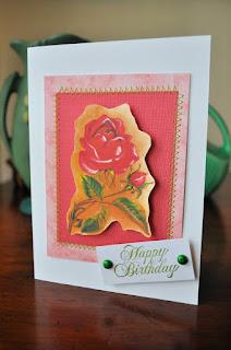birthday card handmade image