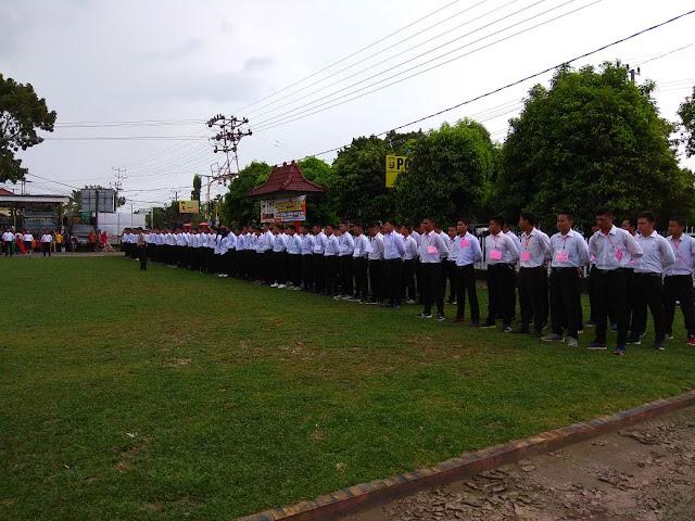 351 Warga OKI Siap Bersaing Menjadi Anggota Polri