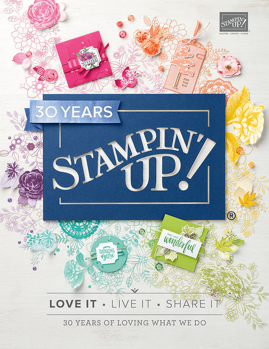 Stampin' Up Catalog 2018-2019