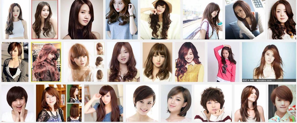 Gaya Rambut Model Terbaru Wanita Wanita Korea Yang Stylist - Gaya rambut ala girlband korea