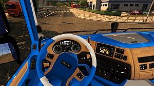 DAF Euro 6 Blue Edition Interior