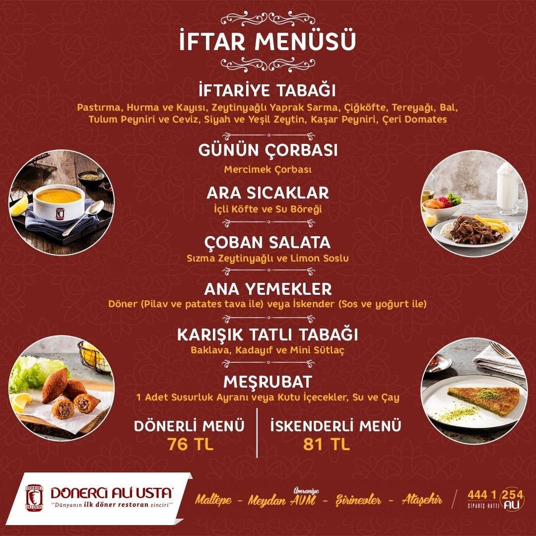 avrupa yakası iftar mekanları avrupa yakası iftar menü fiyatları avrupa yakası iftar seçenekleri