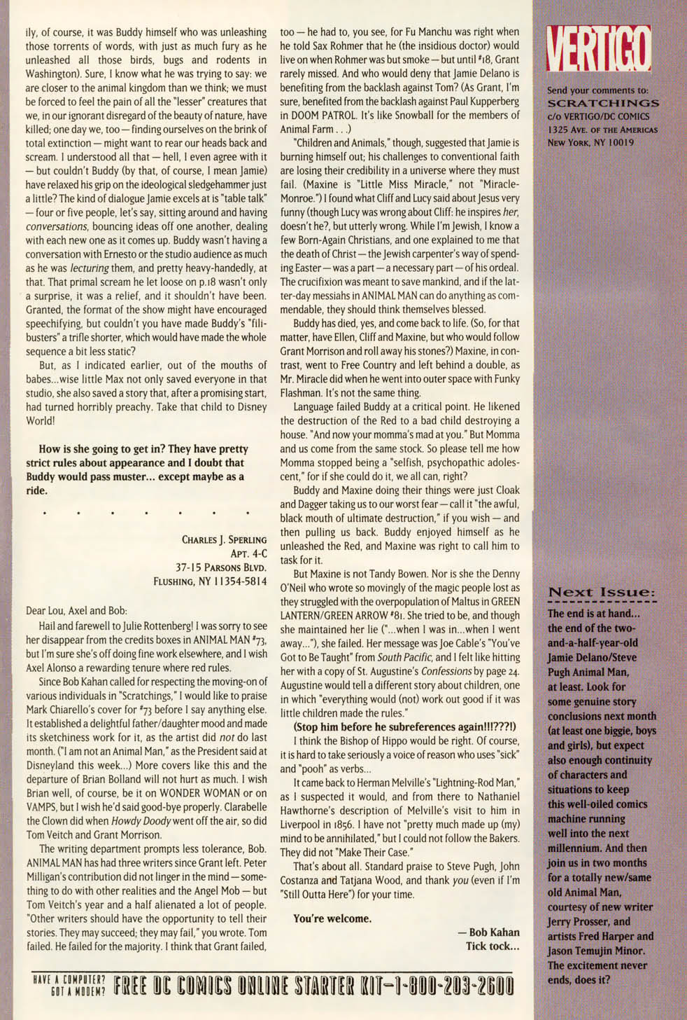 Read online Animal Man (1988) comic -  Issue #78 - 27