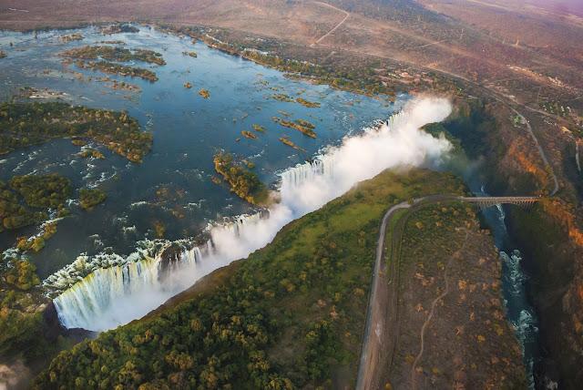 Rovos Rail Afrika, Victoria Falls