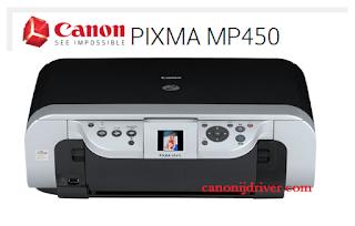 Canon PIXMA MP450 Driver Download