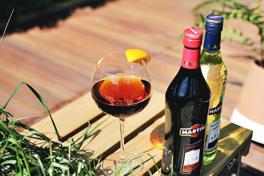 martini aperitif sommer garten