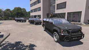 Arma3用CUP MODの車両パックで武装SUV
