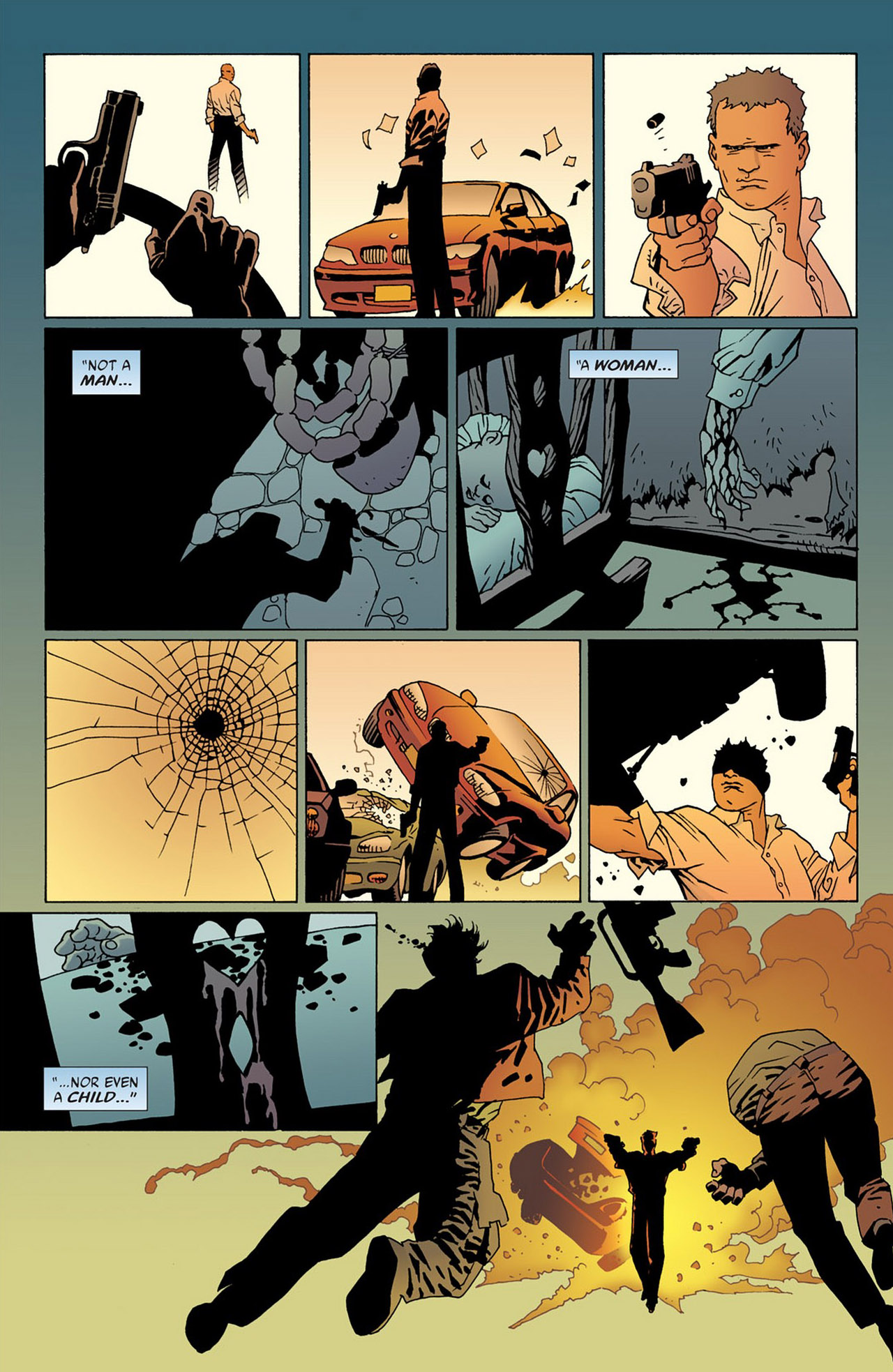 Read online 100 Bullets comic -  Issue #50 - 27