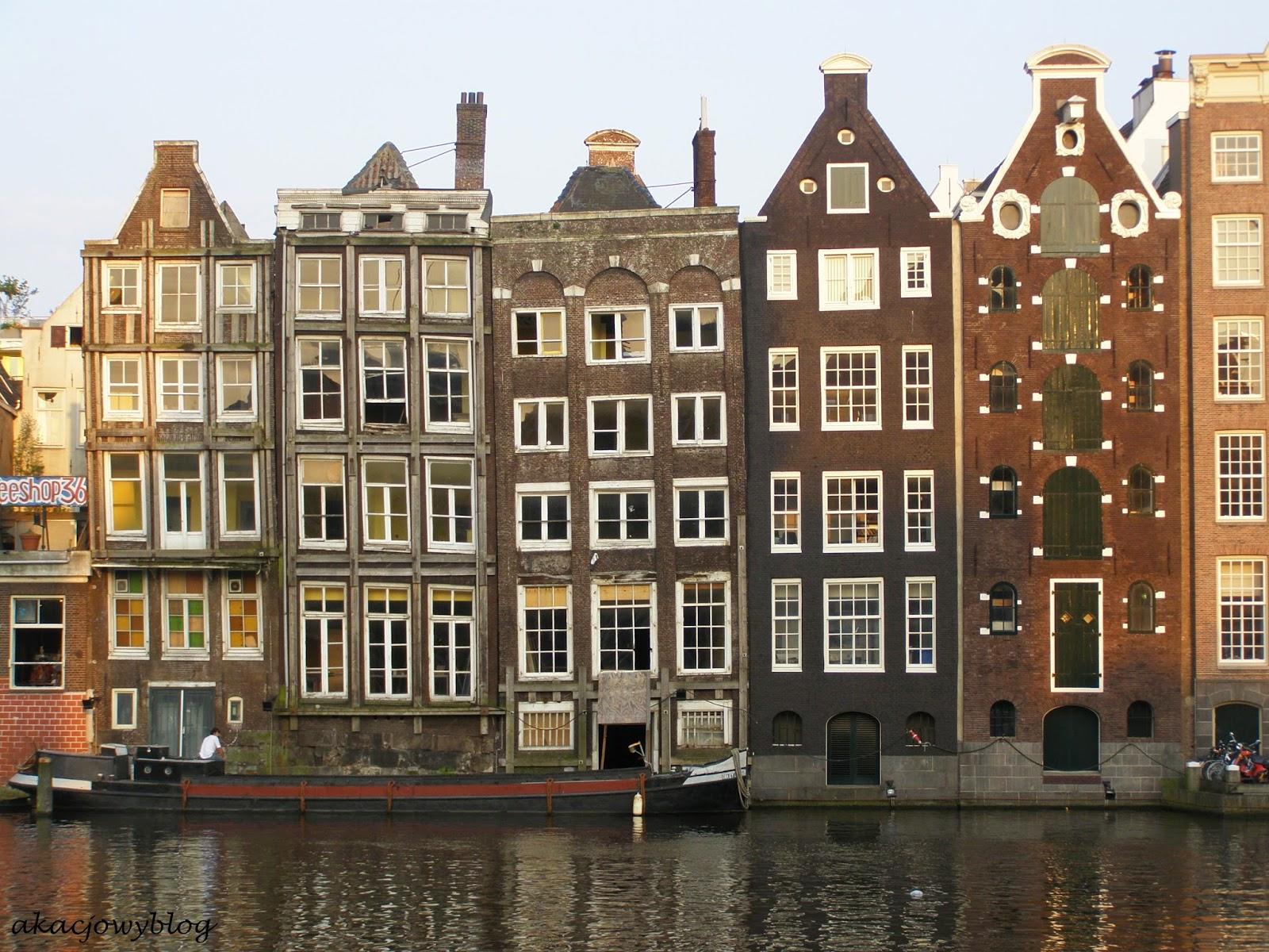 Migawki z Amsterdamu.