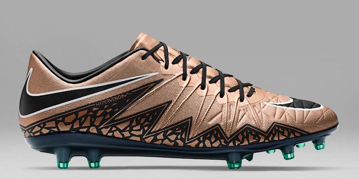 nouveau style 0fce3 cde6f Bronze Nike Hypervenom Phinish 2015-2016 Boots Released ...