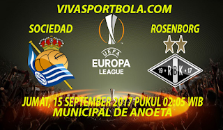 Prediksi Real Sociedad vs Rosenborg 15 September 2017