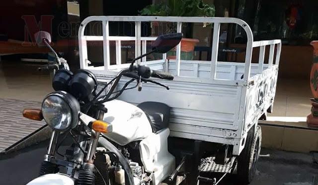 Inilah motor tiga roda yang diamankan polisi