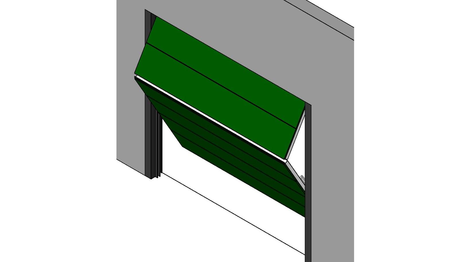 Dise o geom trico de una puerta autom tica realizado por bim for Puertas corredizas revit