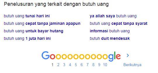 Cara Riset Keyword dengan Google