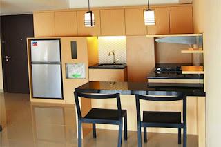 mini bar dapur kecil mungil minimalis dan modern