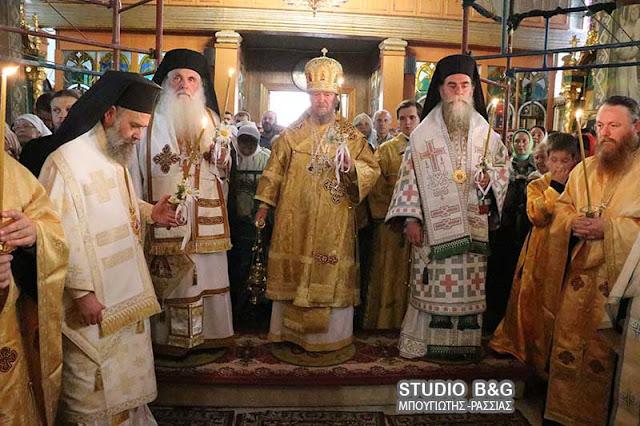 Ο Μητροπολίτης Αργολίδος στους εορτασμούς για τον Άγιο Λουκά στην Κριμαία (βίντεο)