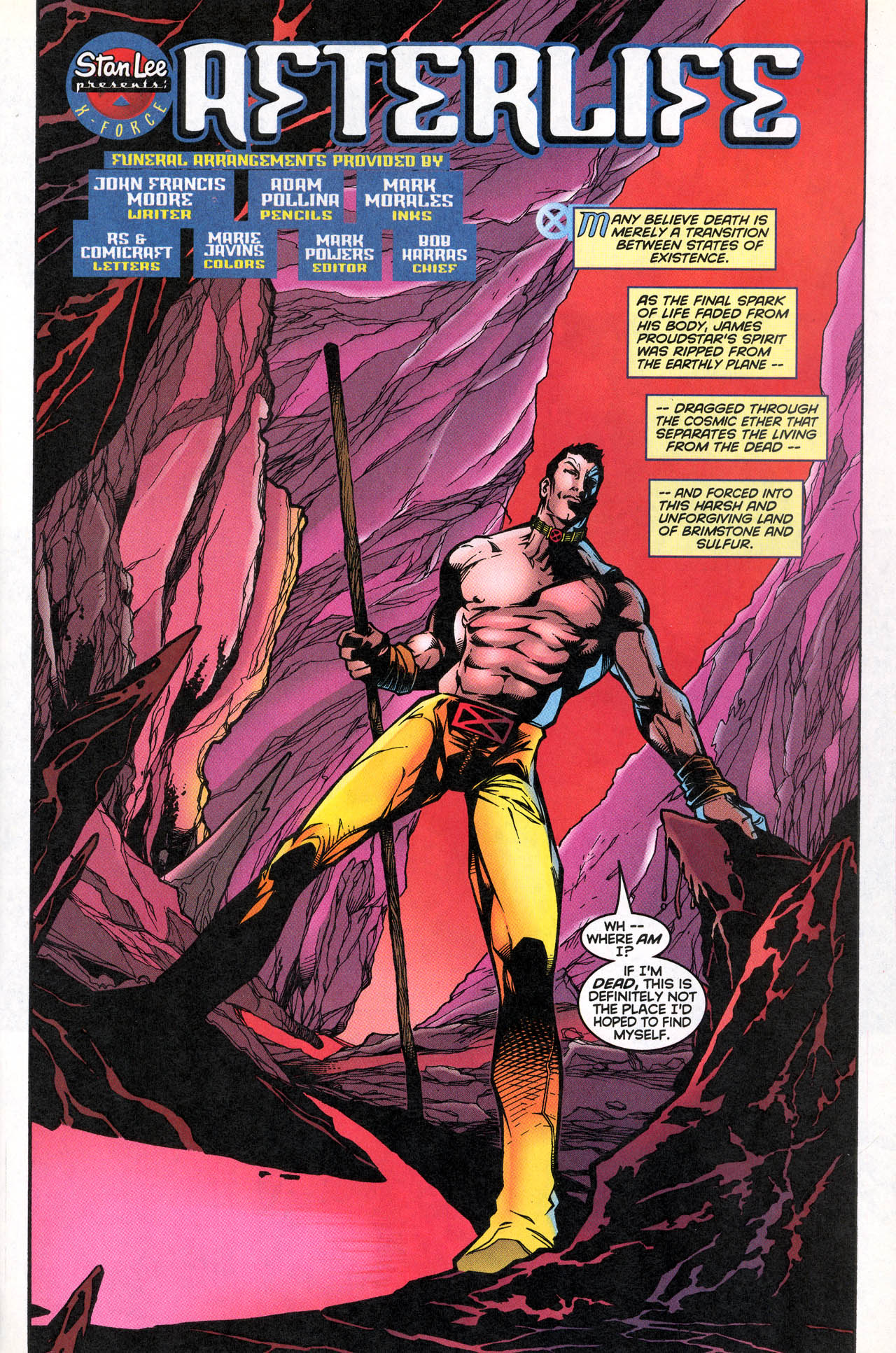 Read online X-Force (1991) comic -  Issue #74 - 6