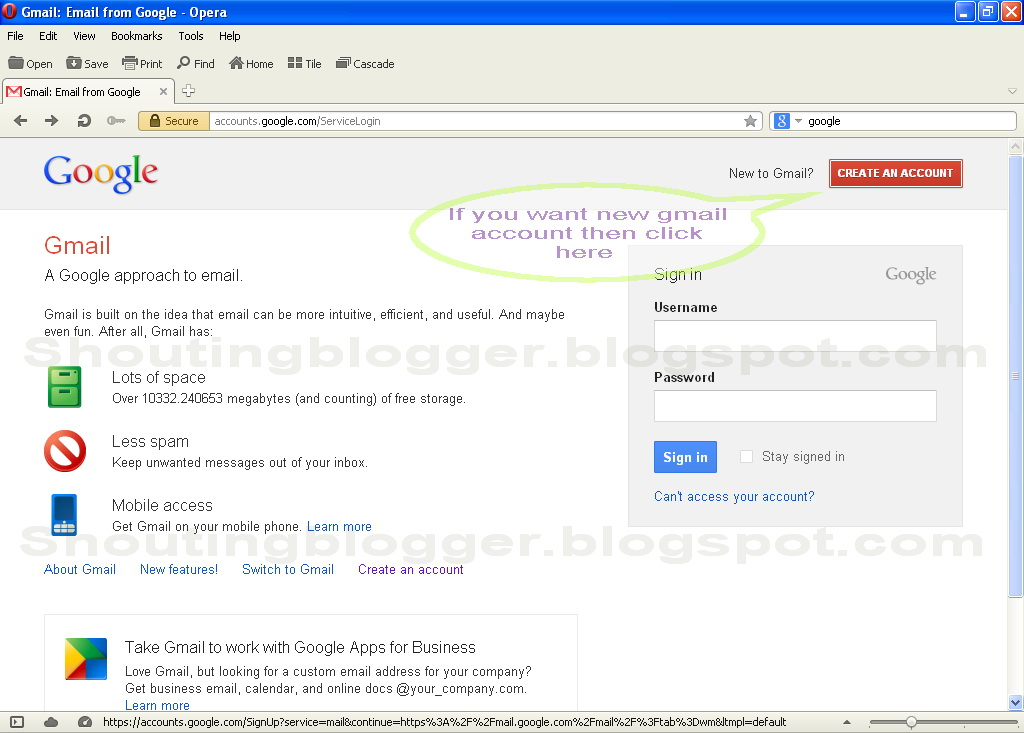 How To Create Gmail Account Step By Step How To Blog