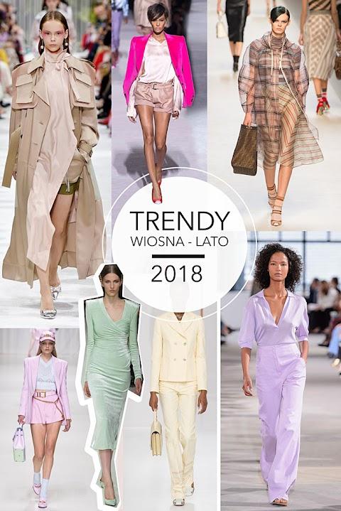 Trendy wiosna-lato 2018