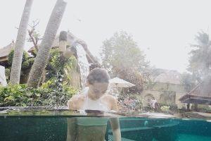 foto luna maya seksi lagi mandi