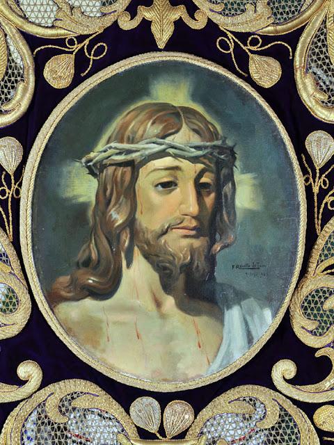 Retrato de Cristo, Félix Revello de Toro, Revello de Toro, Pintores Malagueños, Retratos de Revello de Toro, Pintor español, Pintores de Málaga