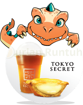 My U Mobile App FREE Tokyo Secret Cheese Tart & Drink Voucher