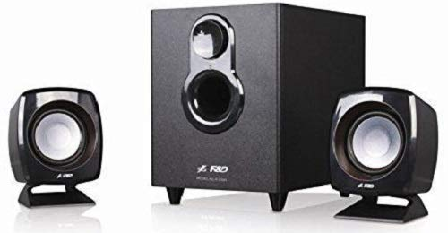 FD F-203G 2.1 Channel Multimedia Speakers System (Black) by F&D