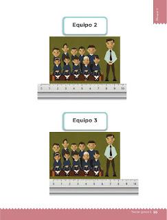 Apoyo Primaria Desafíos matemáticos 3ro. Grado Bloque II Lección 24 Diferentes bordados