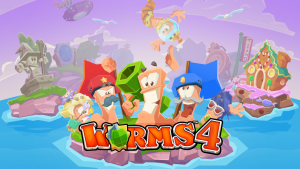 Worms 4 APK+DATA MOD Unlocked 1.0.432182