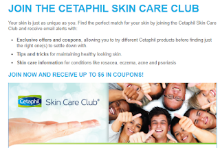 Join the Cetaphil Club For Coupons & Special Offers