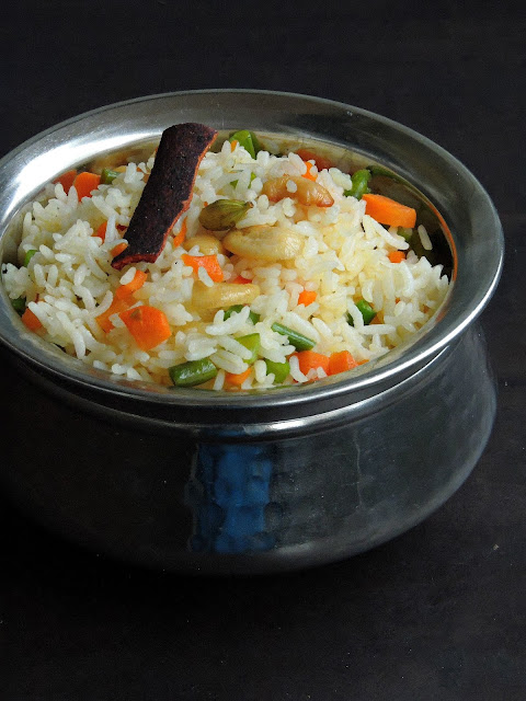 Assamese Vegetable Pulao