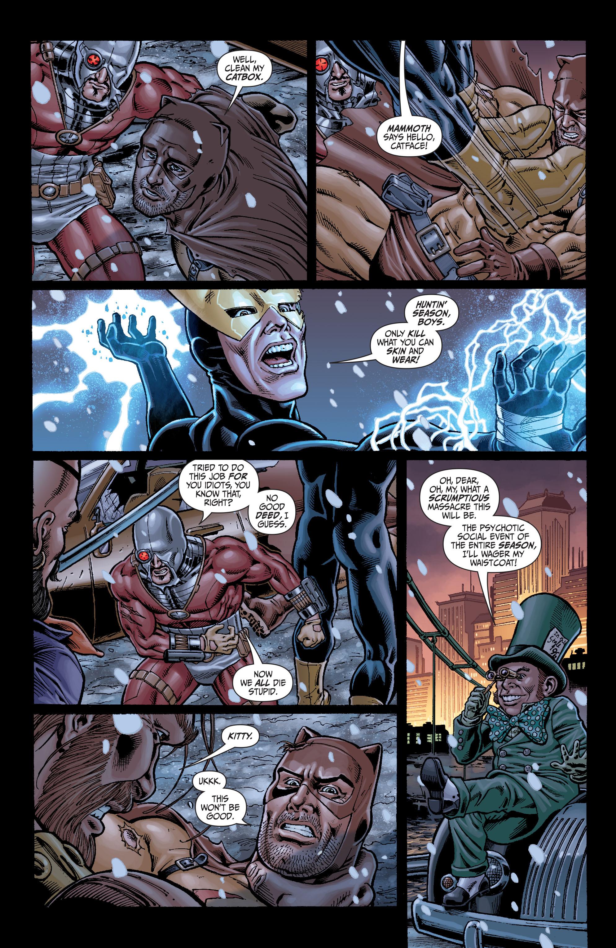 Read online Secret Six (2008) comic -  Issue #7 - 10
