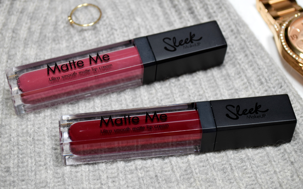 Sleek MakeUP Matte Me Ultra Smooth Matte Lip Cream Review
