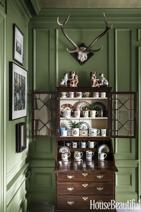 michael-maher-study-cabinet-118-1514476406 House Excursion: Vintage New Jersey Colonial Interior