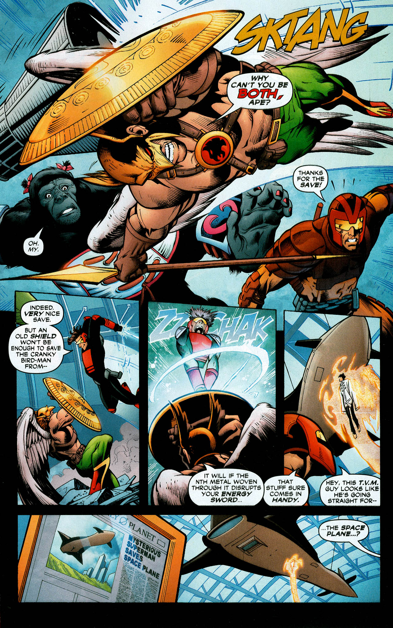 Read online Trinity (2008) comic -  Issue #11 - 28