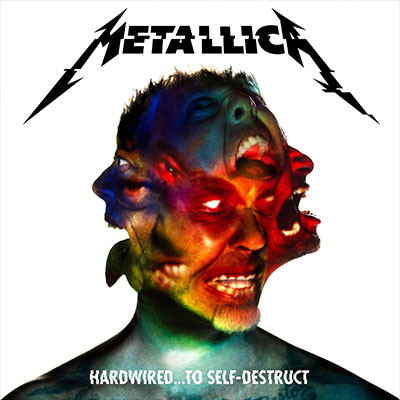The 10 Worst Album Cover Artworks of 2014: 01. Metallica - Hardwired... to Self-Destruct