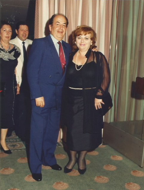 Lucien Francino y Maria Lluïsa Puget en 1987