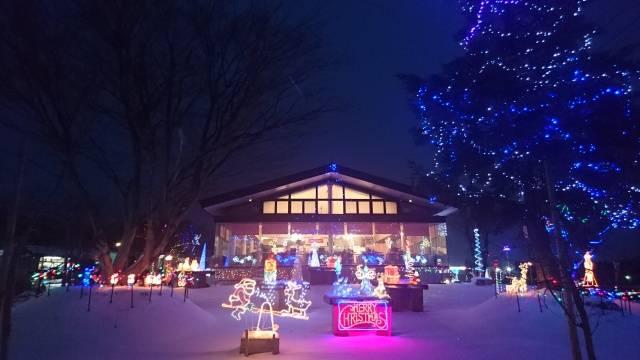 Michi no Eki Namioka Apple Hill Illumination Light Festival イルミネーション 光の祭典 道の駅なみおか アップルヒル 青森市 Aomori City