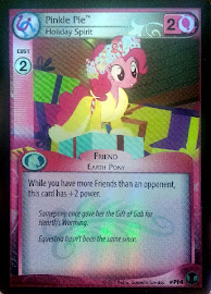 My Little Pony Pinkie Pie, Holiday Spirit Defenders of Equestria CCG Card