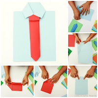 Shirt and Tie Fathers Day Card Creative Area ideas for the Classroom.