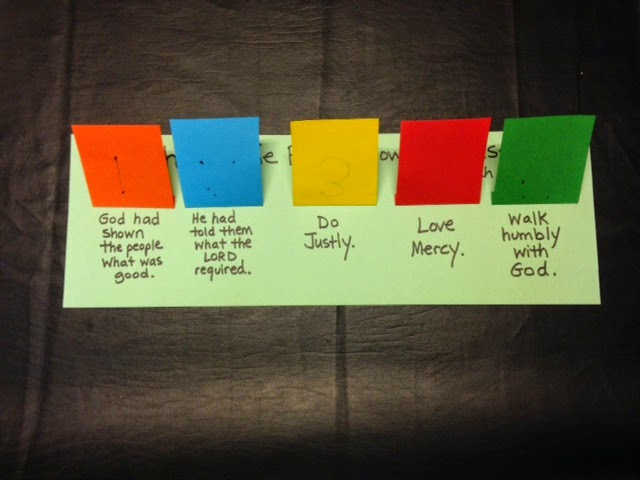 childrens bible lessons lesson micah