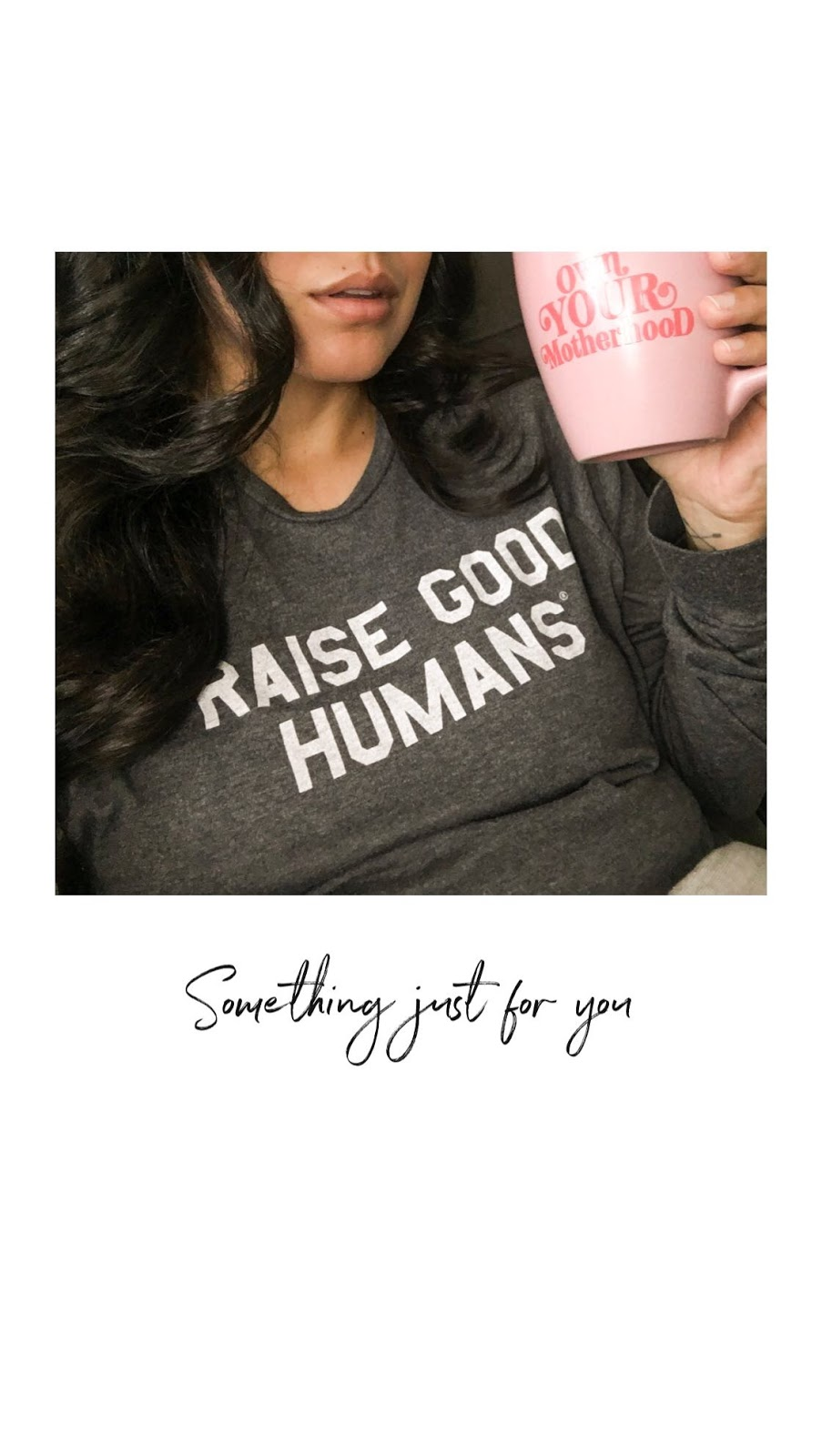 0cb05b101ee9 Own Your Motherhood Mug - New parenthood can be amazing. It is also really  hard and even isolating somedays. You won t be the person you were prior to  ...