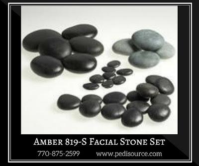 Amber 819-S Facial Stone Set