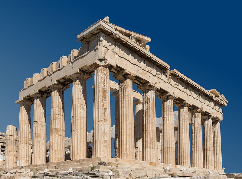 greece parthenon athens acropolis greek architecture ancient classical side stem east file activities preschool commons guide challenge wikimedia
