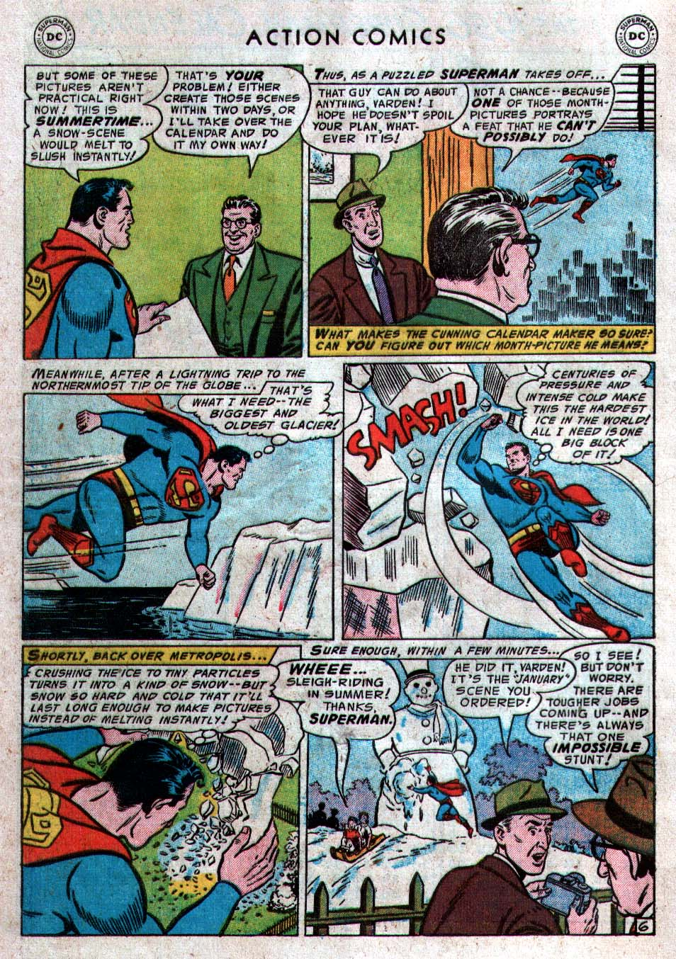 Read online Action Comics (1938) comic -  Issue #212 - 8