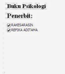 Buku Psikologi Penerbit Rakesarasin, Refika Aditama Online Murah