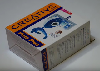 Unboxing webcam Creative Vista Plus