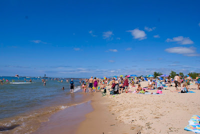 Grand Haven State Beach, Michigan
